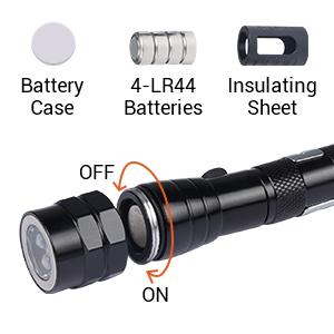 telescoping flashlight