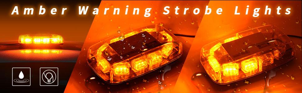 amber strobe light bar
