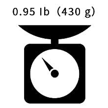 Weigh Less than a pound
