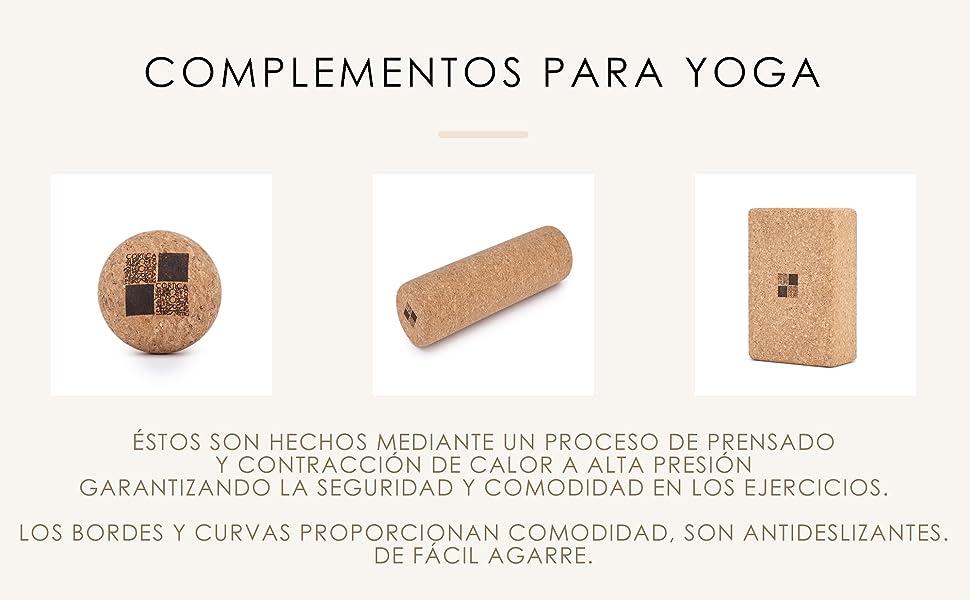yogamat, yogamat, kurk, natuurlijk, veganistisch.