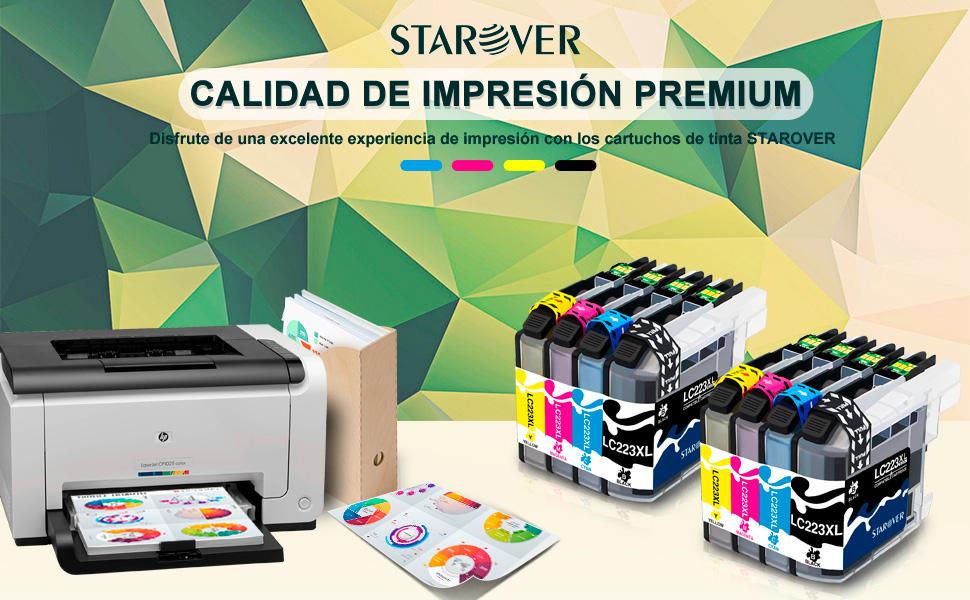 STAROVER Reemplazo de cartucho de tinta compatible para Brother ...