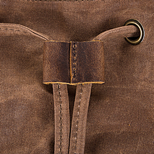women black trim bookbag backpacks laptop waxed 17 inch jack&chris strap compartment drawstring