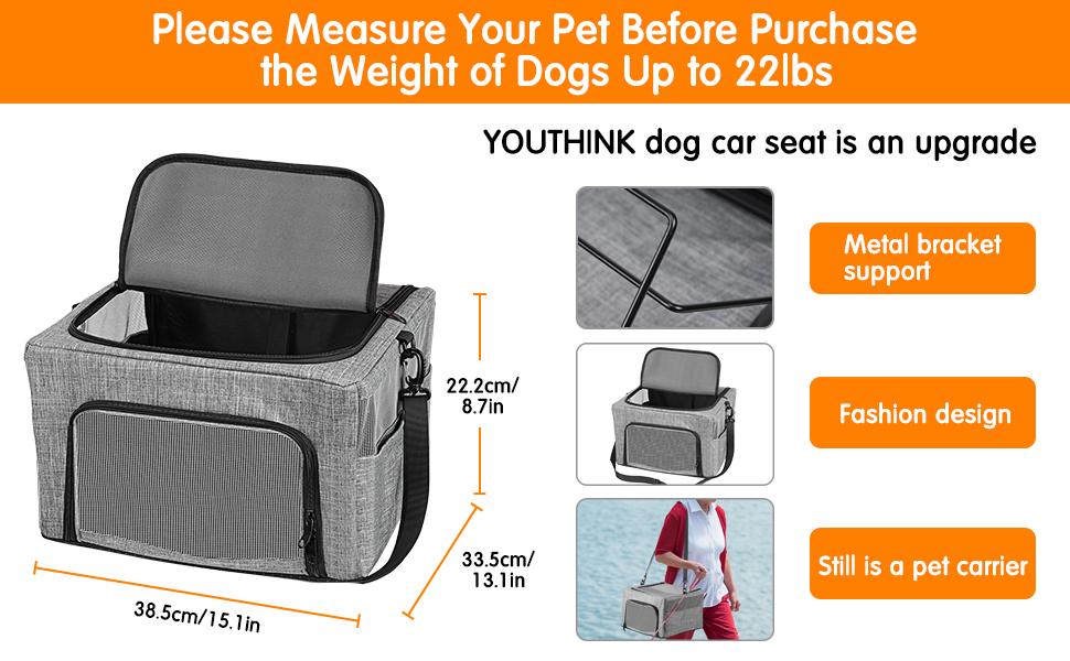 Pet Dog Booster Seat