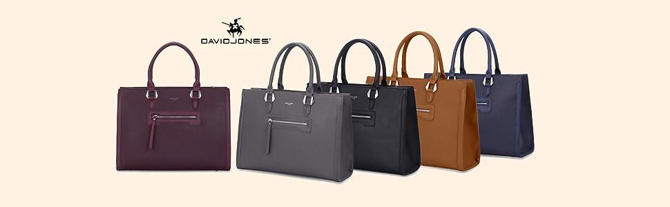 Damen-Handtasche, groß, aus PU-Leder, elegant, mehrere Taschen