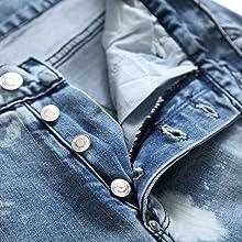 men denim pants distressed men ripped destroyed jean men ripped skinny stretch blue jean men skinny