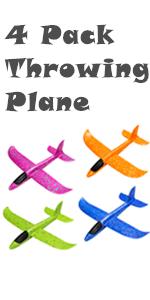 throwing plane
