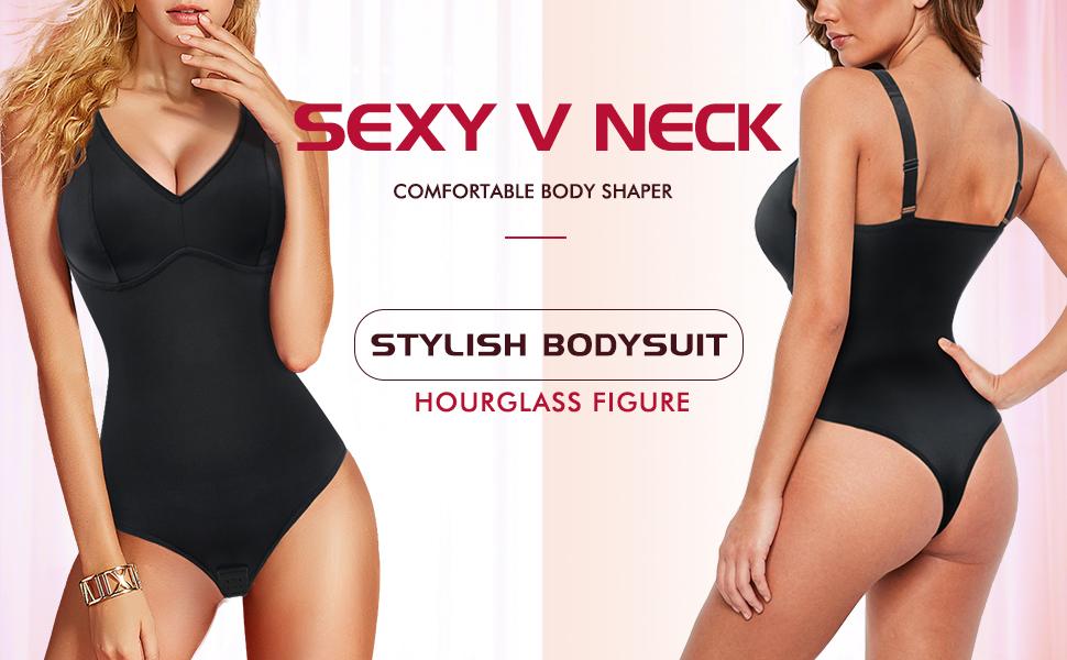 waist cincher bodysuit