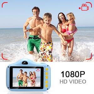 1080 kids digital camera