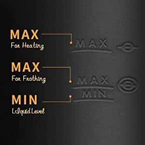 max  coffee steamer milk steamer and frother