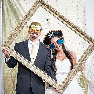 Wedding costume props