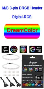 PC Digital RGB LED Strip