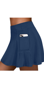 Tennis Golf Skirts with Pockets