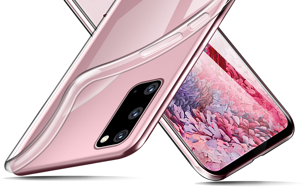 Ivencase Für Samsung Galaxy S20 Hülle Transparent Elektronik