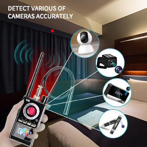 Detect various of cameras accurately