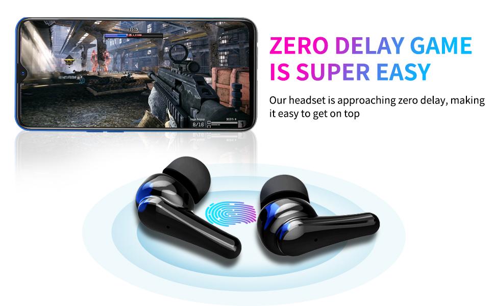 5.2 TWS Bluetooth wireless headphones