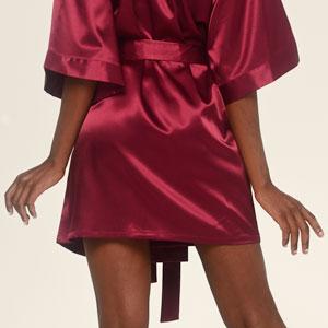durable silk robe