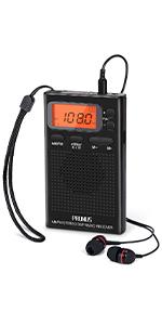 am fm radio portable