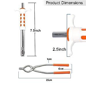 Easy Grip Steel Gas Lighter & sansi combo
