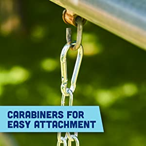 Carabiners for Easy Attachment
