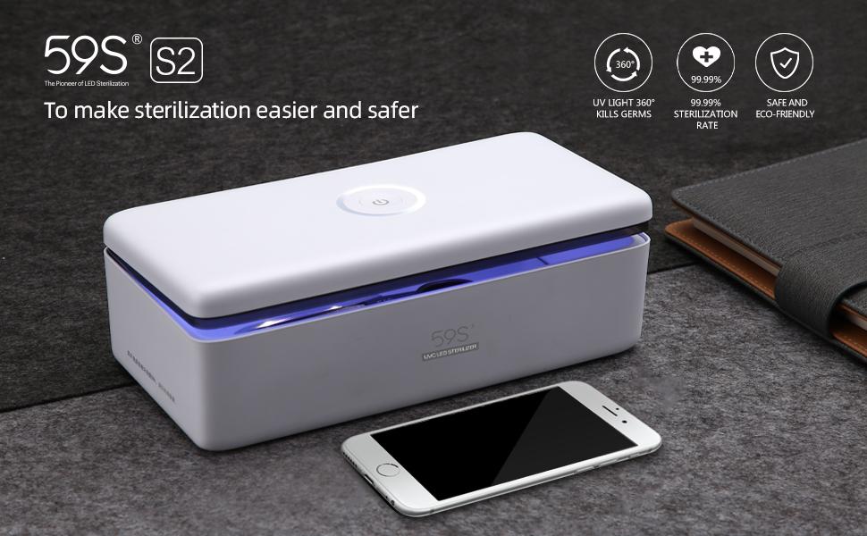 59S UV sterilizing box