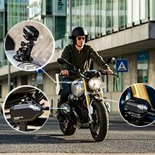Drift Ghost XL, Dash Cam, DVR, Motorcycle camera, Action Camera, clone mode, Helmet camera
