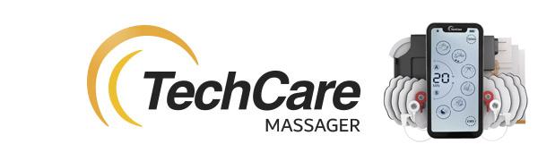 Tens Unit Muscle Stimulator TechCare Touch X