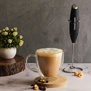 InstaCuppa Milk Frother Hand Held How To Use Step 4