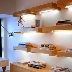 LED светлини на сензора за движение