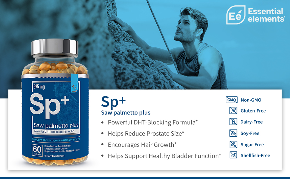 saw palmetto plus - rock climbing man