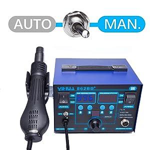 durable soldering iron no wear sleep mode soldering station
