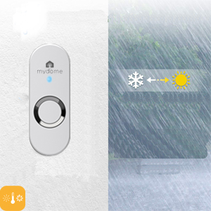 wireless doorbell door bell chime kit receiver cordless doorbells battery operated loud long range