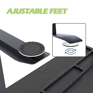 ajustble feet