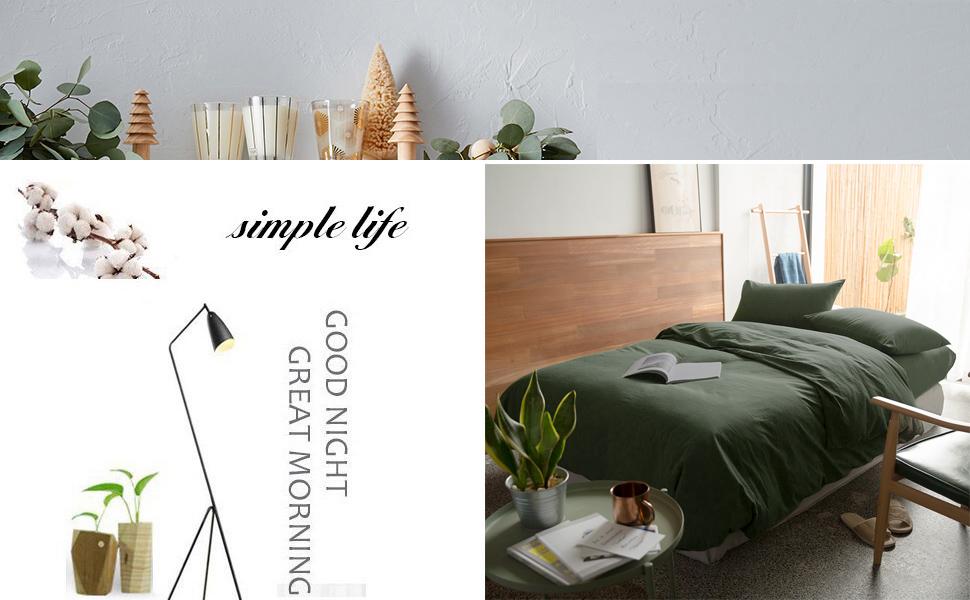 Green Duvet Cover Set