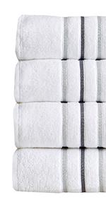 Hallie Striped Bath Towels
