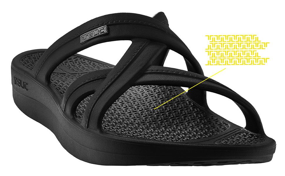 Telic, Novalon, Technology, Sandals, Recovery, Arch Support