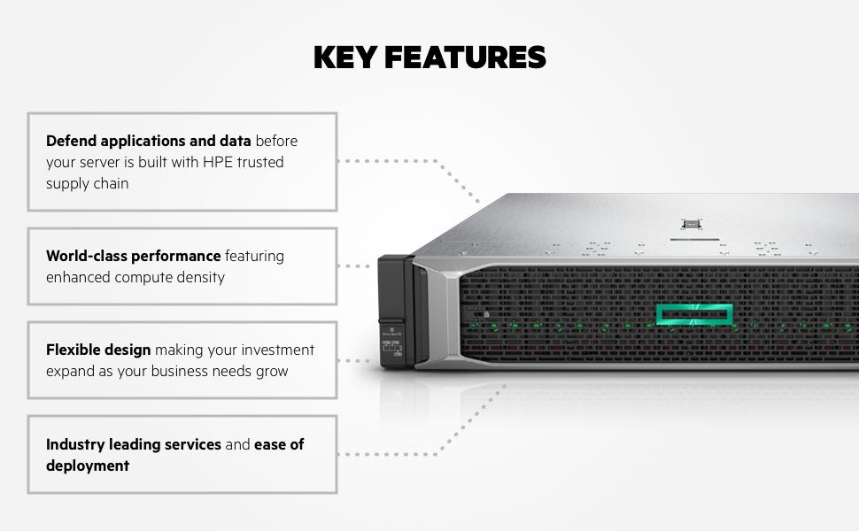 DL380 Gen10 Server - Key Features