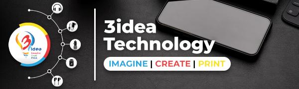 3 Idea Technology Brand Logo