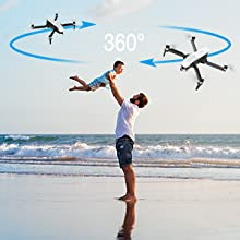 Flashandfocus.com b4364b6d-7fb2-43ba-832a-900ebd912c37.__CR0,0,300,300_PT0_SX220_V1___ SIMREX X20 GPS Drone with 4K HD Camera 2-Axis Self stabilizing Gimbal 5G WiFi FPV Video RC Quadcopter Auto Return Home…