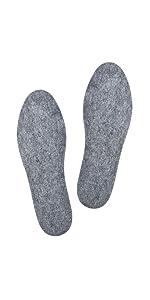 Wool Felt Insoles