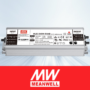 Meanwell driver for grow light