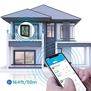 bluetooth remoter monitor humidity temperature