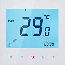 Nassboards Premium Pro 20m2 Elektrischer Fu/ßbode Heizset Fu/ßbodenheizung 200w Wei/ßer Kabelloser WiFi-Thermostat