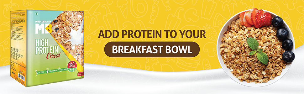 protein cereal protein muesli for breakfast