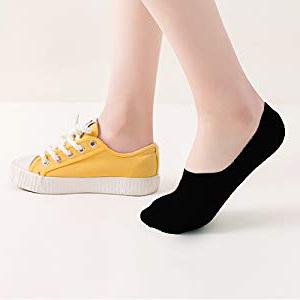 no show socks women black