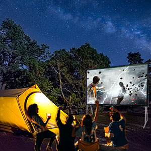 Projector Screens LifeStyle and Entertainment