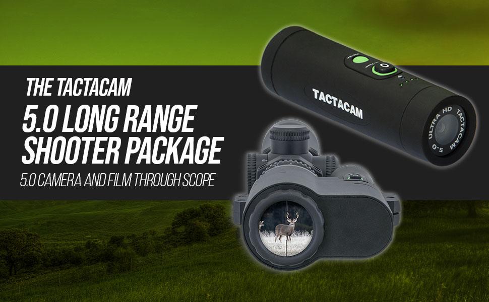Tactacam 5.0 Long Range Shooter Package Camera Film Through Scope Share Hunt Hunter Sniping Gun Scan