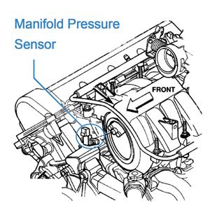 2007-2011 Mercury Grand Marquis 2005-2008 Ford E-150 CCIYU MAP Sensor 5C3Z-9G576-AA Manifold Absolute Pressure Sensor Fit 2007-2011 Ford Crown Victoria 2005-2011 Lincoln Town Car