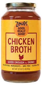 regular chicken broth soup