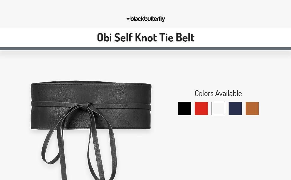 Obi Self Knot Tie Belt
