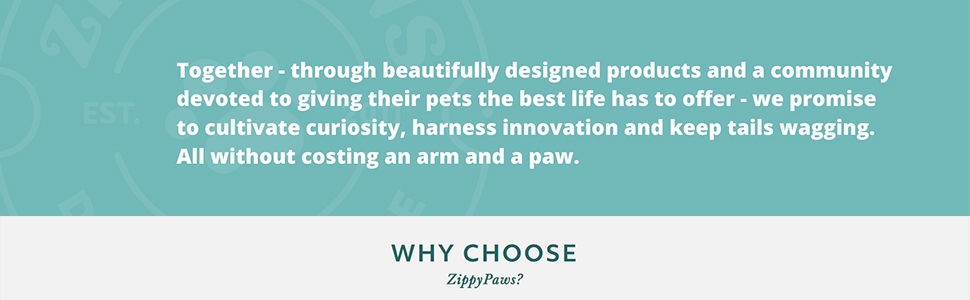 Our Mission: create beautifully-designed, high quality pet products for the modern dog and dog owner